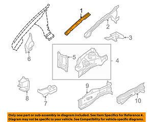 JAGUAR OEM 02-08 X-Type FENDER-Reinforcement Plate Right C2S24641
