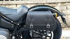 SADDLEBAGS LEFT& RIGHT FOR HD NEW SOFTAIL 2018 STREET BOB AND  SLIM ENDSCUOIO