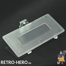 GameBoy Pocket Akku Batterie Deckel Klappe Battery NEU Game Boy Weiß Transparent