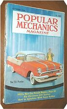 POPULAR MECHANICS MAG  November 1954 Part time farming  Cutting dovetail joints