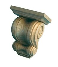 Provencal Kitchen Brackets/Corbels, 1 pair, carved in solid ASH wood, #AS758