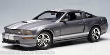 2007 FORD MUSTANG SHELBY GT APPEARANCE PACKAGE TUNGSTEN GRAY 1:18 Scale AUTOart