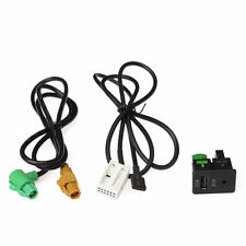 Car USB Interface Adapter AUX In Input For VW POLO Magotan Touran RCD310 510
