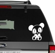 Jdm Cute Baby Panda Bear Vinyl Decal Sticker for Wall Decor, Windows, Laptop