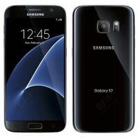 Brand New Samsung Galaxy S7 Black Lte 32GB Unlocked Smart Phone-1Year Wty.