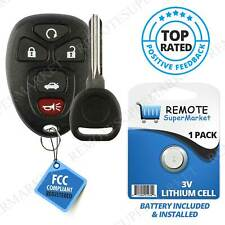 Replacement for Chevy 2005-2010 Cobalt 2004-2012 Malibu Remote Key Fob 5b Set