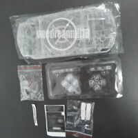 Clear Crystal Housing Shell Case Cover For PSP 1000 2000 3000 Console Shell Kit