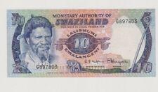Swaziland 1974 p4 10 emalangeni scarce vf