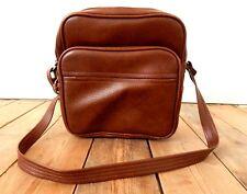 Vintage Tog Tote Flight Bag Travel Case Mid Century - Brown - Retro