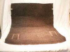 1989 Nissan Pulsar NX Rear Seat Back Cargo Hatch area Orignal Carpet black/gray