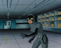 Batman Animated Series Original Production Cel Catwoman-Cat Scratch Fever