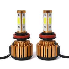 Canbus H11 H8 LED Headlight Bulb High Low Beam Kit Fog Light 26000LM 240W 6500K