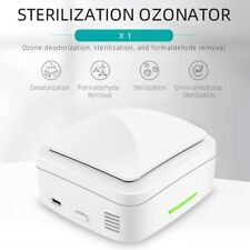 Mini Ozone Generator Deodorizer Air Purifier Usb Rechargeable Portable Cleaner