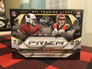 2020 Panini Prizm Nfl Football blaster box brand new in hand factory sealed 🔥🔥