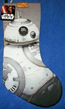 NEW - Star Wars BB-8 Quilted Christmas Stocking 19 inches