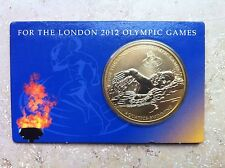 London 2012 Olympic Games Aquatics-Swimming - 40 mm Bronze Medaille Coinage