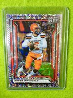 BAKER MAYFIELD PRIZM CARD JERSEY #6 BROWNS SP/99 REFRACTOR 2019 National VIP SSP