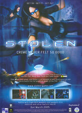 "Stolen ""Out March"" 2005 Magazine Advert #4747"