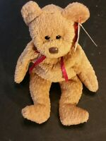 """TY BEANIE BABY """"CURLY BEAR"""" RETIRED WITH MULTIPLE TAG ERRORS VERY RARE!"""