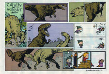 Calvin and Hobbes by Bill Watterson - color Sunday comic page - January 24, 1993
