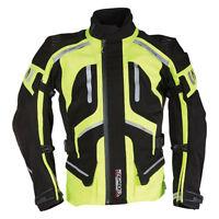 Richa Canyon Black / Fluo Yellow Motorcycle Motorbike Textile Jacket   All Sizes