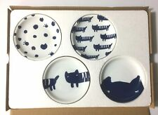 Tsumori Chisato Mamezara Small Cat Dishes Set of 4 JAPAN InRed Special Appendix