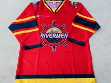 Peoria Rivermen Replica Jersey Size Youth XL SPHL Minor League Hockey Illinois