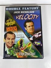 Velocity & The Little Shop Of Horrors DVD Jack Nicholson Double Feature RARE