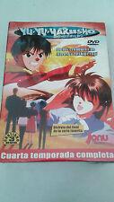 "DVD ""YU YU HAKUSHO GHOST FILES 4 CUARTA TEMPORADA"" 3 DVD CAPITULOS 95 AL 112"