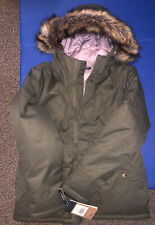 The North Face Greenland Down Green Waterproof 550 Fill Large Girls Youth Hooded