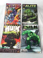 lot 4 comics avec HULK dont 2 Marvel Elite