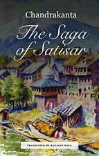 The Saga of Satisar by Chandrakanta  New 9789381017630 Fast Free Shipping+=