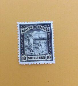 MALTA. 1899. ST.PAUL'S SHIPWRECK. 10/-. REPRO.