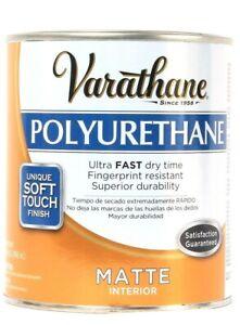 1 Can Varathane 32 Oz Polyurethane 266233 Matte Interior Ultra Fast Dry Time