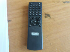 KWORLD WIDE SCREEN PROJECTOR Remote Control (277)