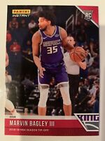 2018-19 Panini NBA Season Tip-Off Marvin Bagley Rookie RC Sacramento Kings /330