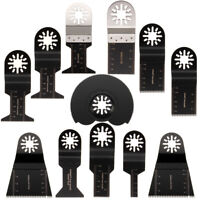12Pcs Mixed OOscillating Saw Blade Multi Tool For Fein Makita AEG