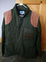 "GARY NESSE ""THE ULTIMATE"" HUNTING JACKET CONVERTS TO VEST GREEN SIZE Medium"