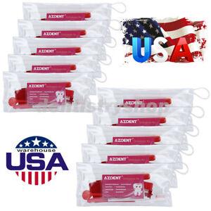 10X USPS Dental Ortho Tooth Brush Set Interdental Brush Floss Mirror Travel Kits