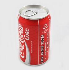 Coca Cola Dose mit Inhalt, voll, ungeöffnet, unopend can, Italien, Italy 1990