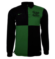 NIKE Sweatshirt Celtic Glasgow Größe S Herren Fussball Rugby Grün Irish S Shirt