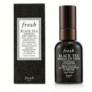 FRESH BLACK TEA FIRMING EYE SERUM STRENGTHENS  & ILLUMINATES 0.5 OZ NEW BOXED