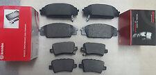 Honda Civic TYPE R FN2 2.0 VTEC 06- Brake Pads Front & Rear Brembo Brakes