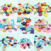 10/30/50/100g Tissue Paper Round Heart Sart Shape Table Confetti Wedding Party D