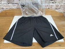 Adidas Shorts Mens Small Sports Climalite Black BNWT Running Gym Fitness BNWT