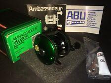 Abu Garcia Ambassadeur 4600 CB Reel Green W/ 4500 CB Box NOS New MINT AWESOME!!