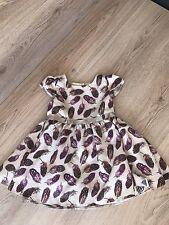 Stunning Baby K Mylene Klass 12-18 Months Leaf Party Dress