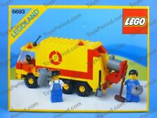 LEGO 6693 Refuse Collection Truck Classic Town 1987 MISB New