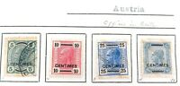 .AUSTRIA OFFICES in CRETE. MH & UH VINTAGE STAMPS. SOME NICE GRADES.