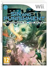 Sin and Punishment Successor of the Skies Game Nintendo Wii Brand New FREE P&P